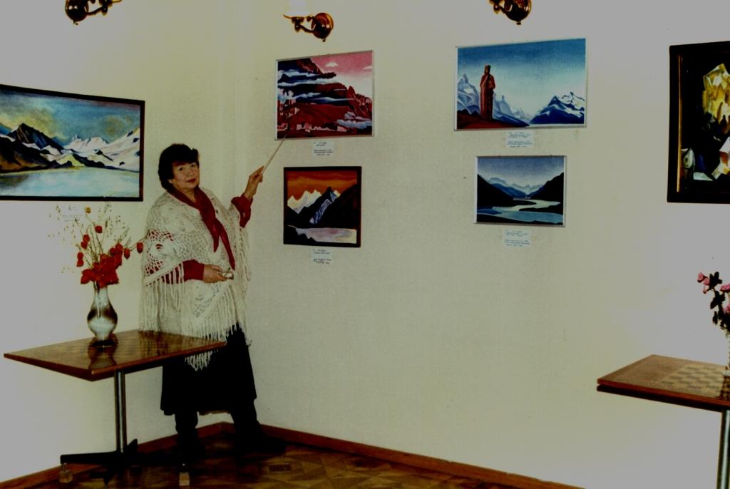 Выставка Картин М. Тоненковой 25.12.96 г.1996 год