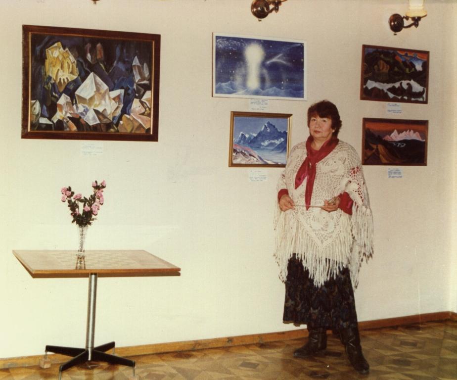 Выставка картин М. Тоненковой 25.12.96 г.