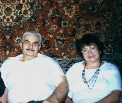 В. Гордеев и М. Тоненкова (г. Электроугли, фото 2000 г.)