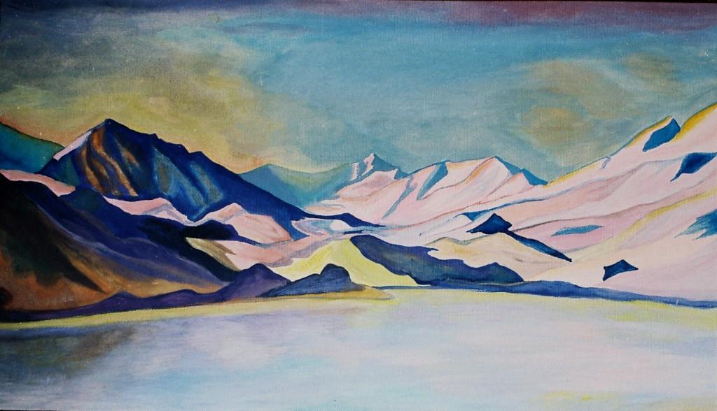 Горное озеро - 1