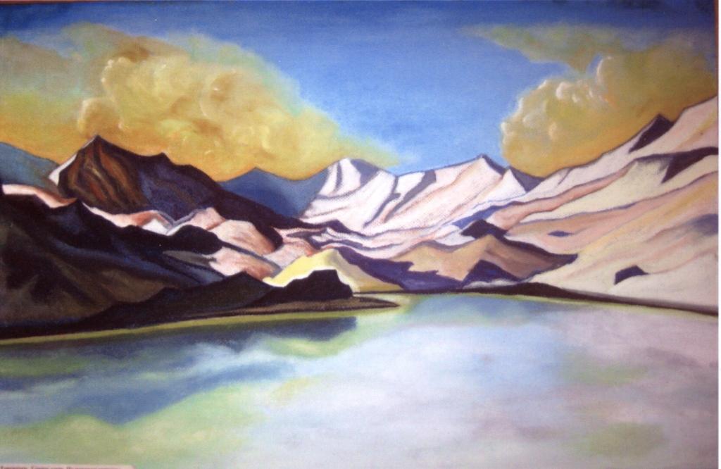 Горное озеро - 2