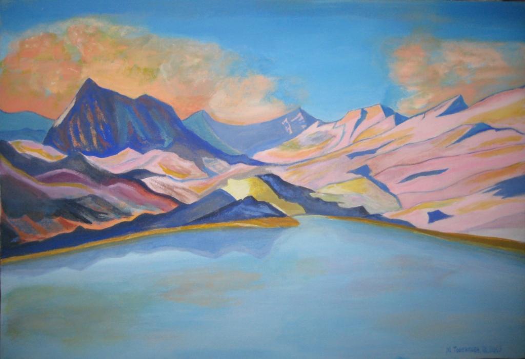 Горное озеро - 3