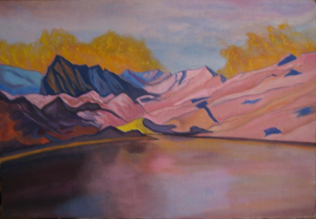 Горное озеро - 4