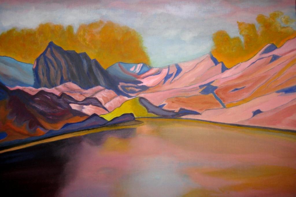Горное озеро - 5
