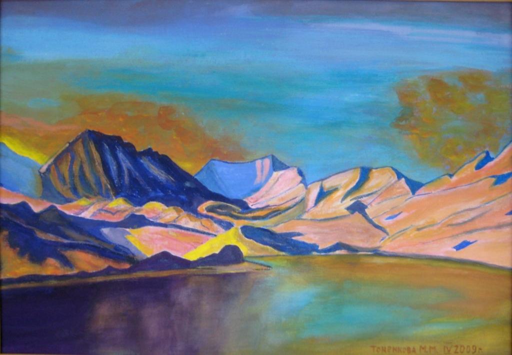 Горное озеро - 6