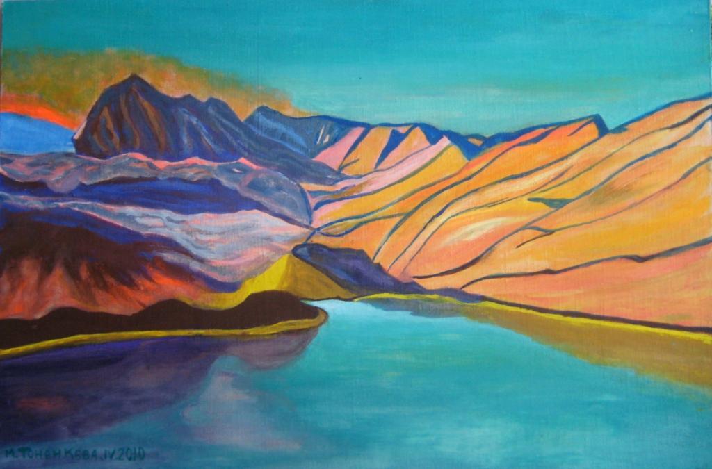 Горное озеро - 8