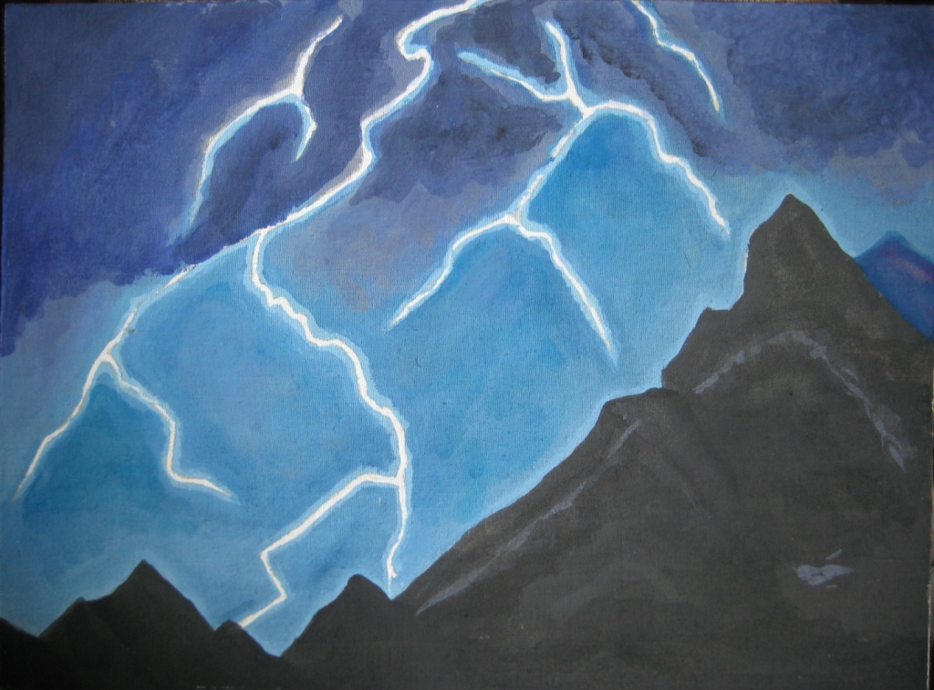 Гроза в Гималаях