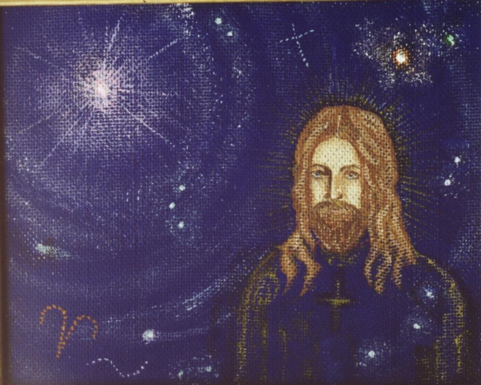 Христос и Вифлеемская звезда вар. - 2