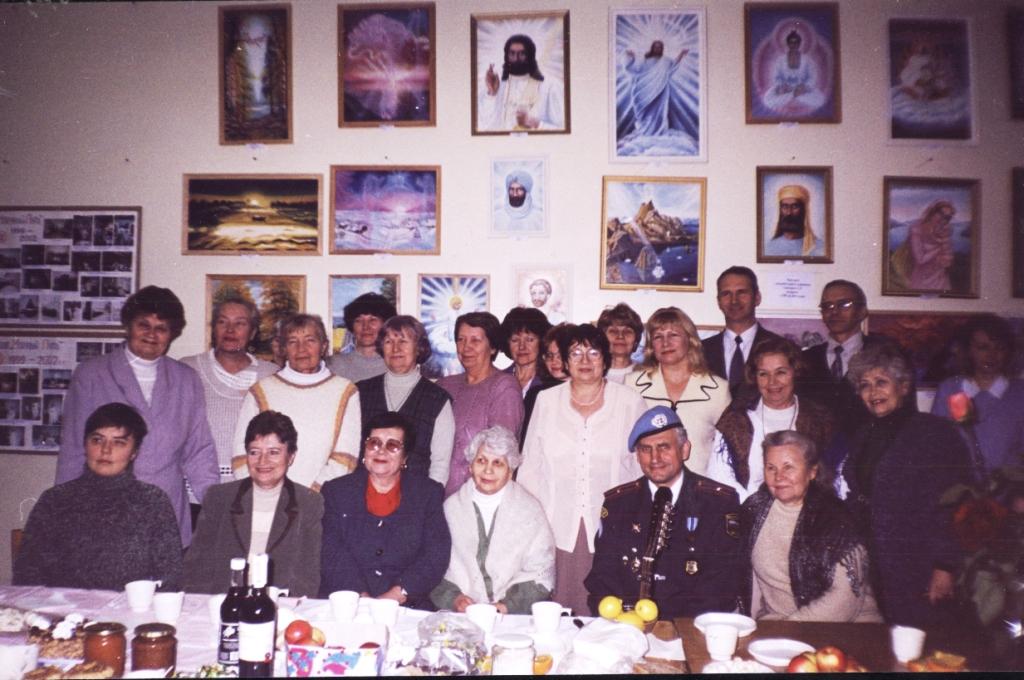 Десятилетний юбилей Школы 19 января 2003 г.