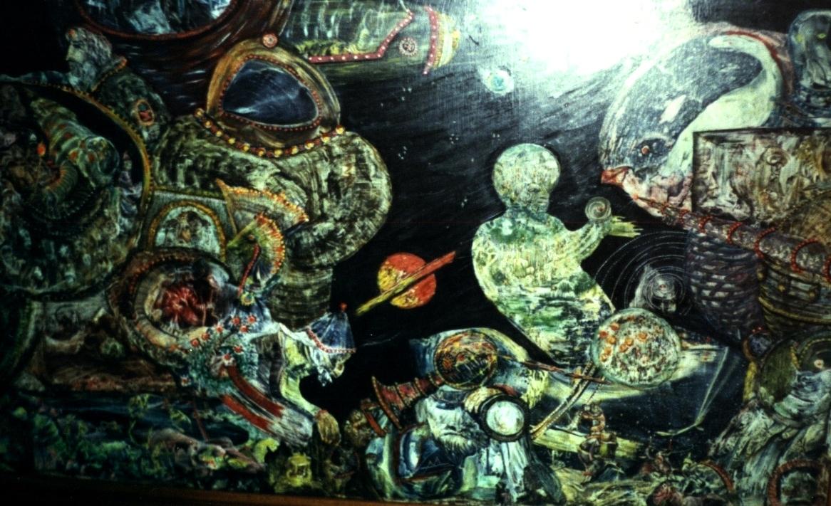 Картина В.  Гордеева. Отзовись, Вселенная!
