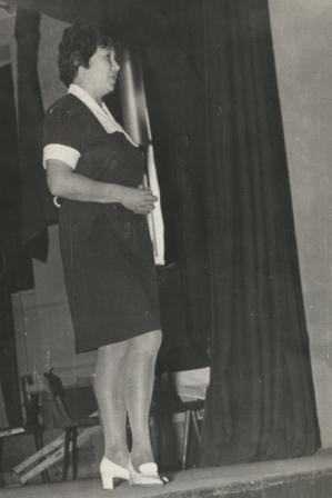 На смотре худсамодеятельности,  1981 г.