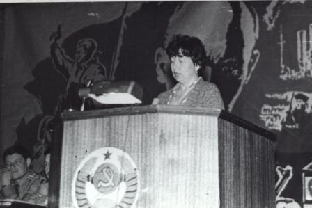 На кафедре  математики в ГВЗРКУ, 1981 г.