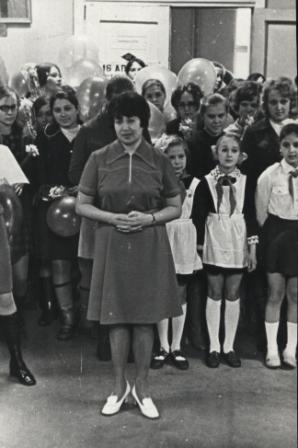 Пионервожатая, апр. 1974 год.
