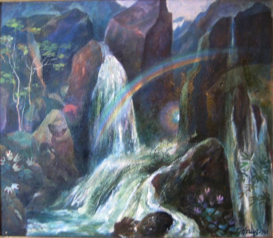 А. Ф. Сивов.Обратная радуга.