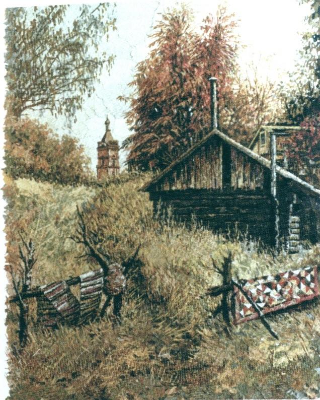 Банька в Крестах. 2003 г.