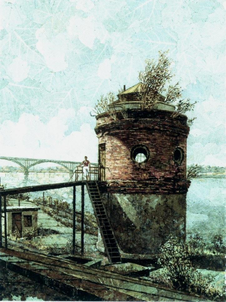 Башня на Оке. 2003 г.