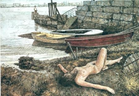 Дикий. дикий пляж (Городецкая Венера). 2004 г.