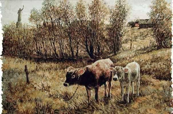 Два бычка Аввакум и Никон.