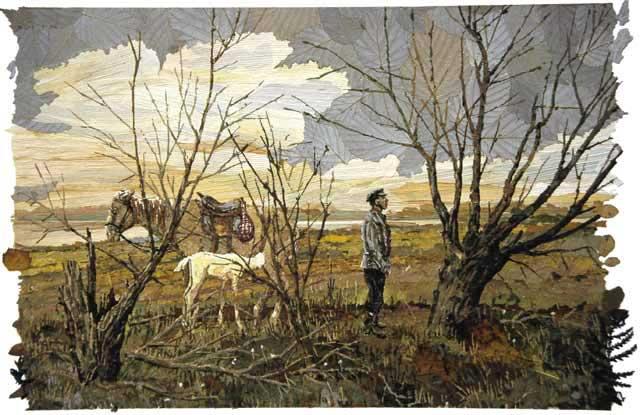 Фермер. (Лошадь с жеребёнком).
