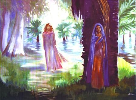 Иисус и Мария. 2004