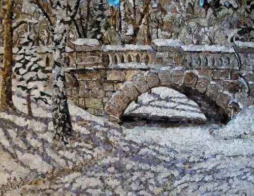 Каменный мостик.