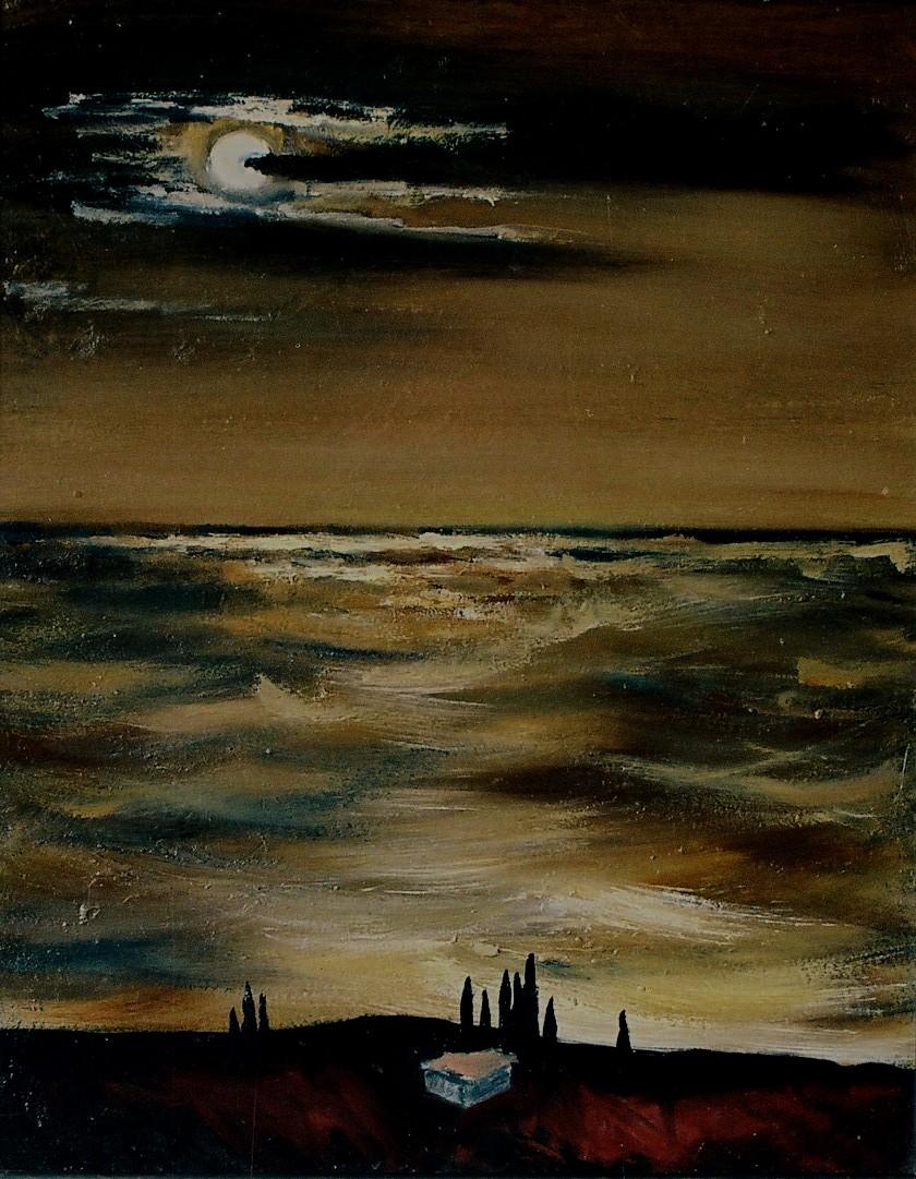 Коробова. Лунная ночь на море