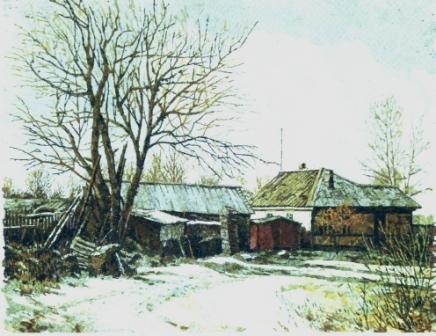 Край деревни. 2006 г.