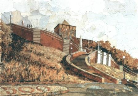 Лестница. 2000 г.
