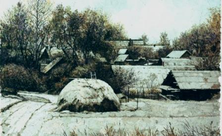 Начало зимы. 2007 г.