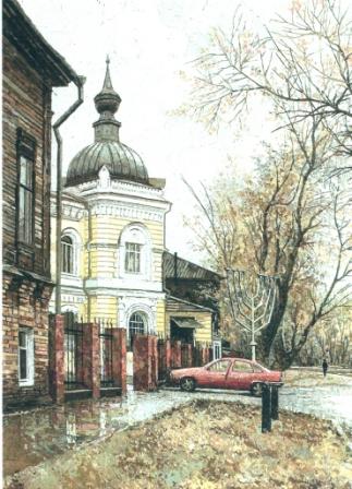 Нижегородская синагога. 2003 г.