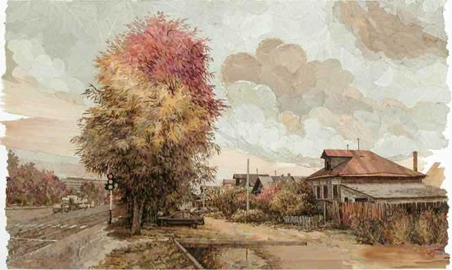 Осенний цветофор.