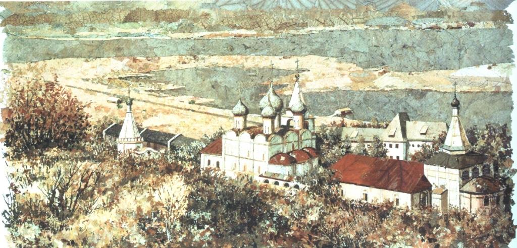 Печёрский монастырь. 1988 г.