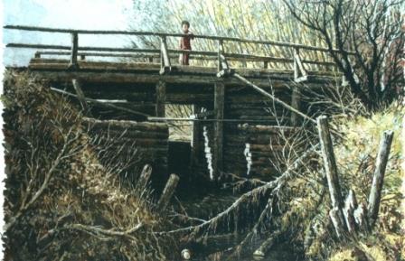 Под мостом. 2004 г.