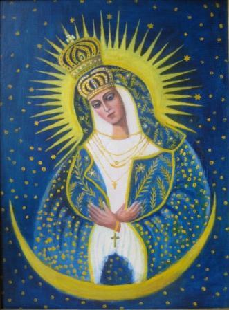 Пресвятая Богородица Остробрамская