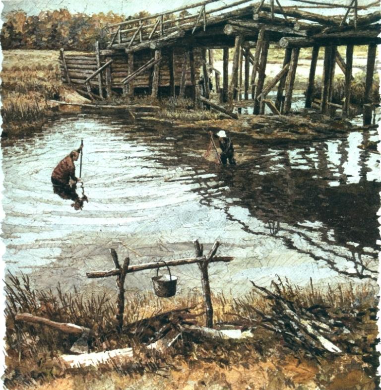 Рыбалка натощак. 2007 г.