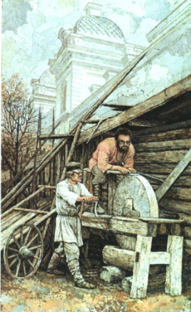 Самое крупное точило Ромодановки. 2004 г.