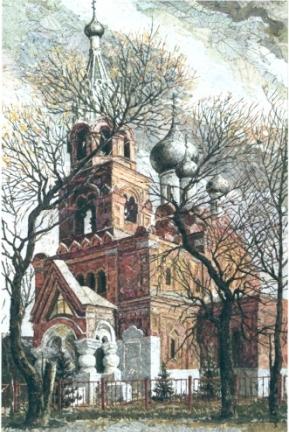 Спасская церковь. 2007 г.