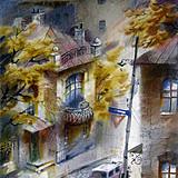 Уютный переулок