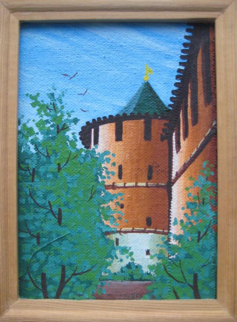 В. Хонюшкин.Северная башня Нижегородского кремля.