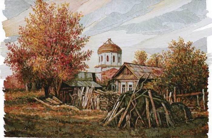 Забытый центр Хвощёвки. 2005 г.