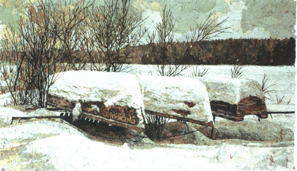 Зимняя спячка. 2007 г.