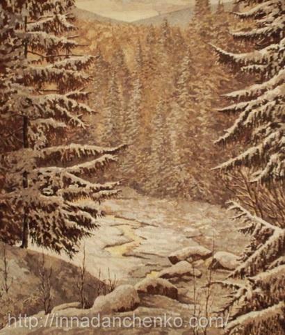 Анисимов. Спящий лес.