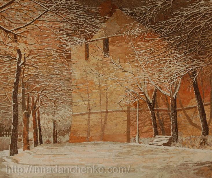 Анисимов. Средневековый замок. 2010 г.