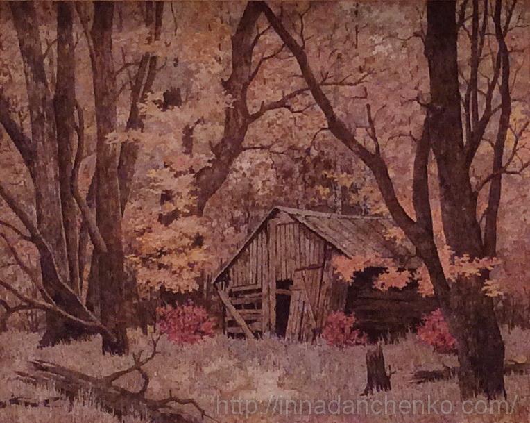 Анисимов. В лесной глуши. 2014 г.