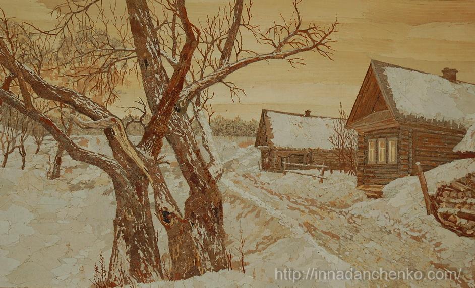 Анисимов. Зимний вечер. 1998 г.