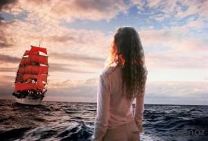 И трепещет любовь парусами