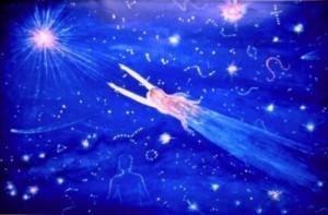 Картина М. Тоненковой Полёт души