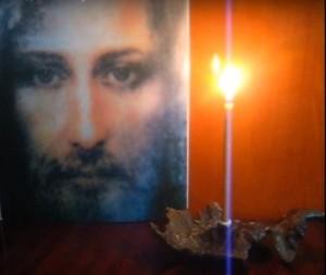 Я подобно свече... растворяюсь в Божественном лике