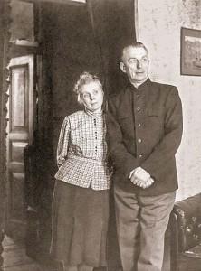 Б. Н. Абрамов с женой Ниной в Венёве
