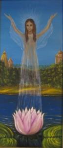 Картина М. Тоненковой Душа Лотоса